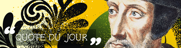 John Calvin Quote of the Day